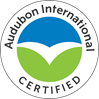 working toward certification with Audubon International